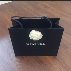 Authentic CHANEL Shopping paper bag